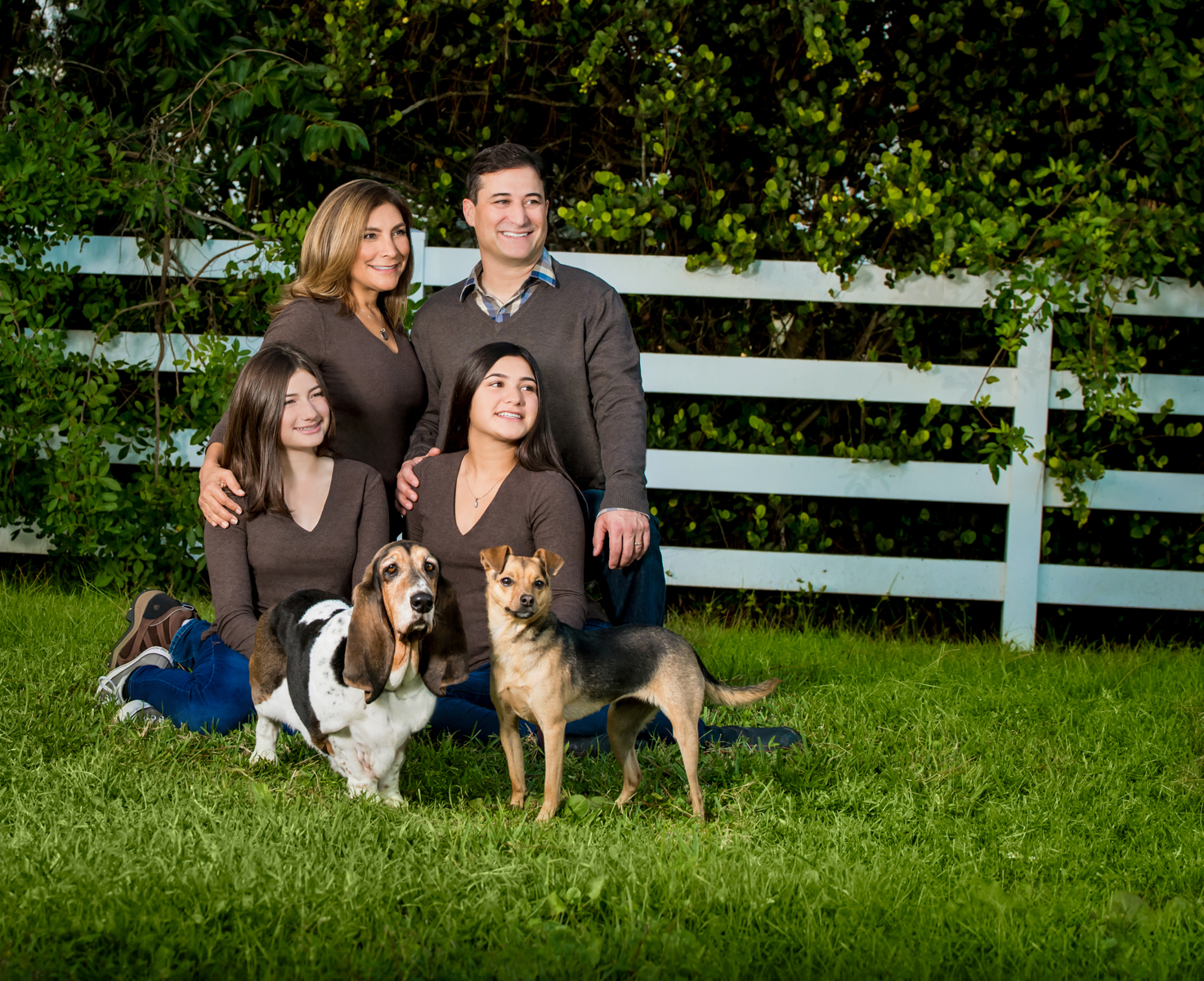 Specializing in family photos on location or in the studio.