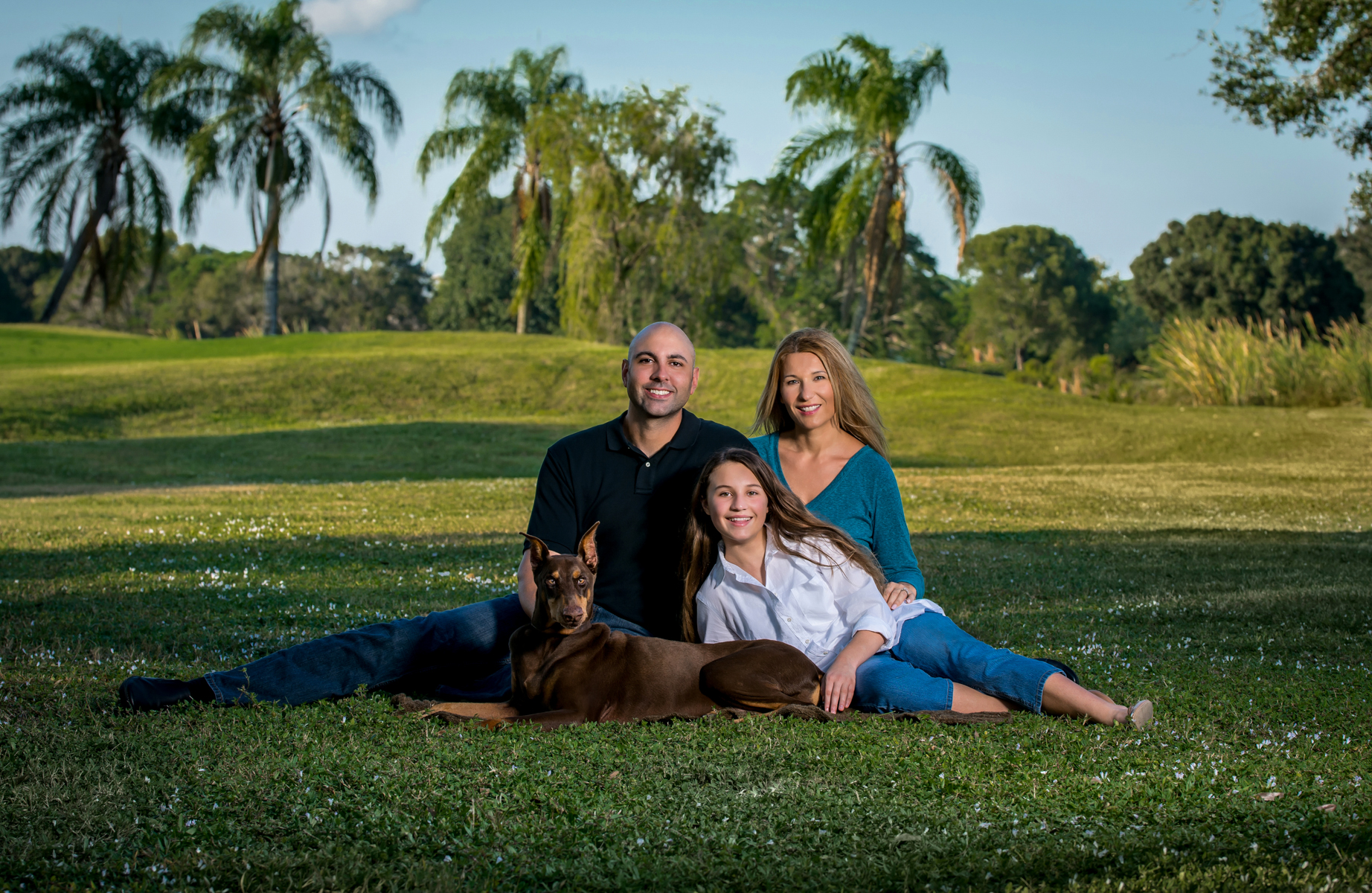 Unique location sessions for family portraits. Call us at 561-307-9875.