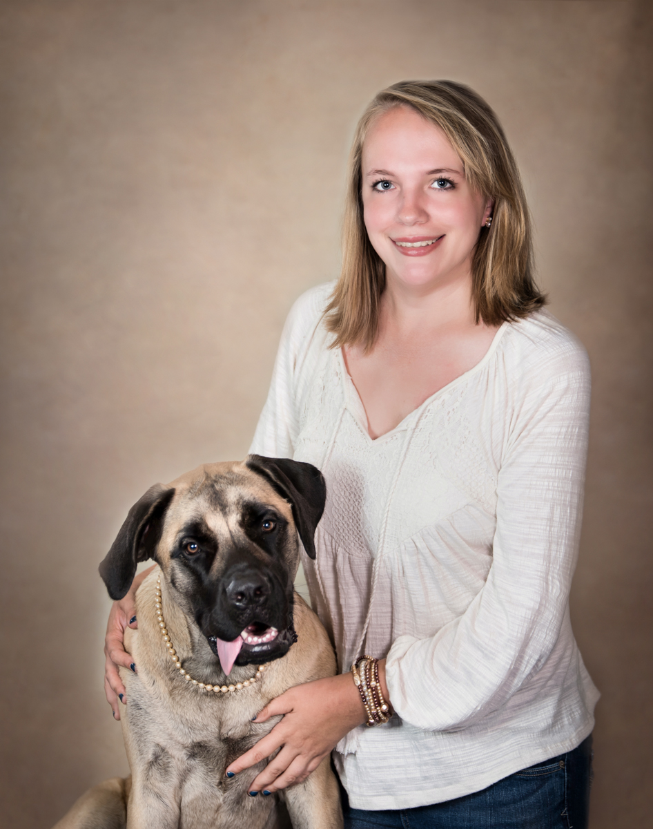 Large dog photographer