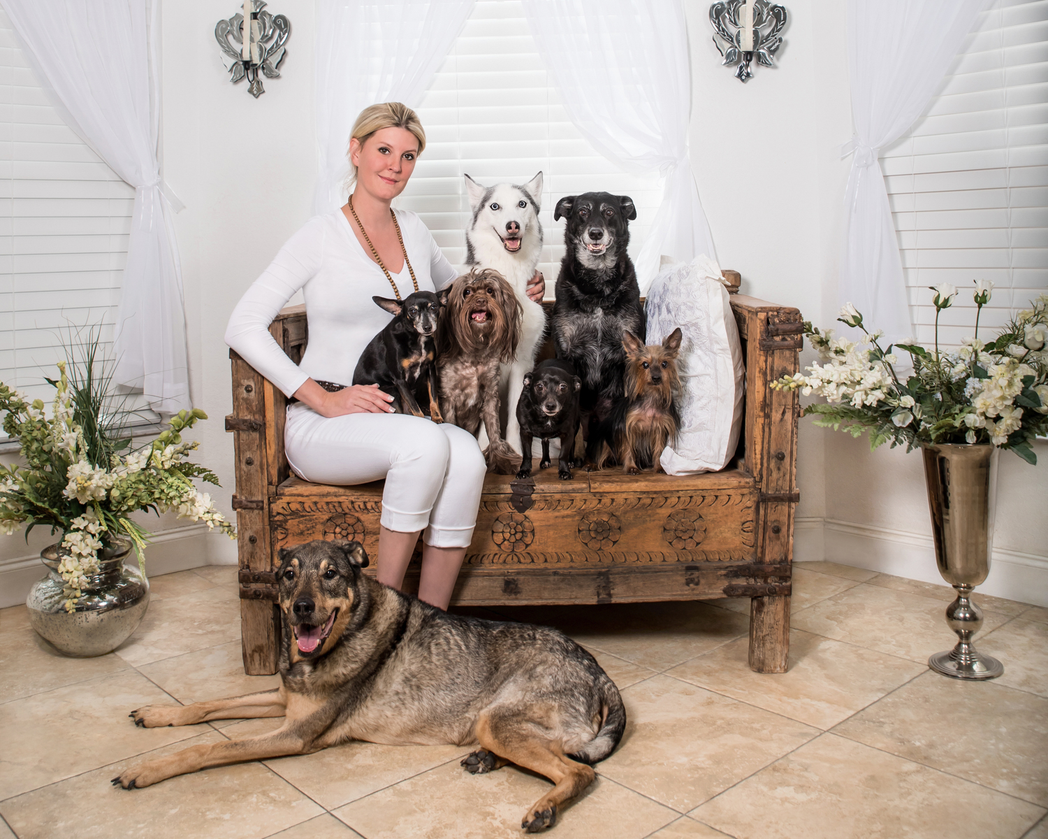 Pet owner and dogs photographer Palm Beach Gardens, FL